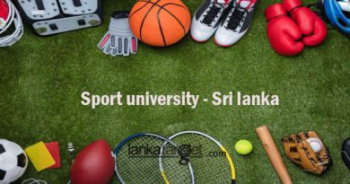 Sri Lanka to build its first national sports university